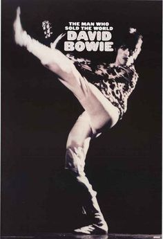 A very Hunky Dory David Bowie poster for any fan of The Man Who Sold the World! Fully licensed - 2012. Ships fast. 24x36 inches. Check out the rest of our amazing selection of David Bowie posters! Nee