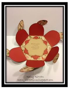 Pear & Partridge Flower Card made with the Cricut Artiste