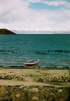 Lake Titica in Bolivia, Peru.
