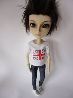 Set of 3 Tshirts for Taeyang doll  Union by TheDollieBoutique, £13.00