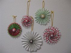 #Christmas paper decorations