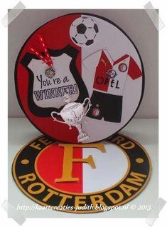 Kaarten en Creaties van Judith: Feyenoord...