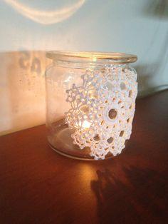 Henkogningsglas Mason Jar Lamp, Candle Holders, Table Lamp, Candles, Home Decor, Table Lamps, Decoration Home, Room Decor, Porta Velas