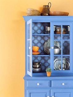 painted china cabinets and hutches