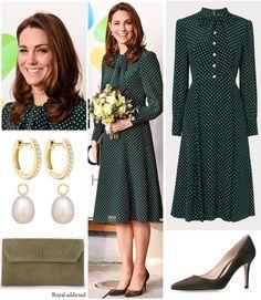 Duchess of Cambridge Style! Kate Middleton Coat, Kate Middleton Outfits, Modest Dresses, Elegant Dresses, Dresses For Work, Duchess Kate, Duchess Of Cambridge, Princesa Kate Middleton, Kate Dress