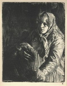 anders zorn drawings - Google Search