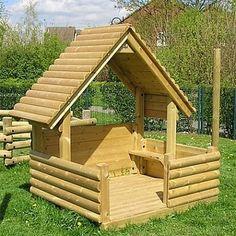 Alexander Playhouse - Playground Equipment http://www.fenlandleisure.co.uk/products/nb56-alexander-playhouse/