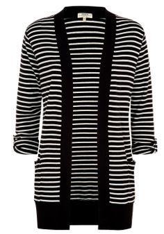 Long Line Stripe Cardigan £12.00 @Matalan