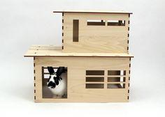 おしゃれなウサギ小屋をご紹介。