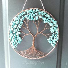 The Friendship Tree Wire Tree of Life Wall by HomeBabyCrafts, $60.00