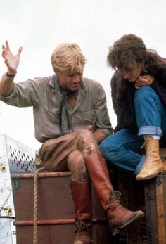 Boots! Robert Redford!