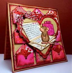 """""""Dearest One Love Letters"""" by America Kuhn on House-Mouse Designs®"""