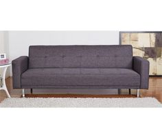 Sofá cama TONY Gris oscuro - Conforama Love Seat, Couch, Furniture, Flat, Home Decor, Gauntlet Gray, Gray, Sleeper Couch, Dark