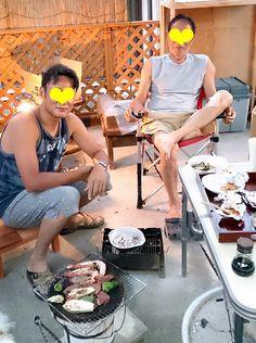 台湾へ嫁いで9年、一年に一度の里帰りは毎晩のように宴会状態。再会を十分満喫。主人と父は一生懸命にコミュニケーションしています。【ししまるさん☆夏の思い出】