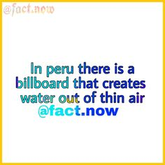 water out of thin air !!! WOW      #funfacts #like4like #facts #wtffacts #follow4follow #randomfacts #truefacts #justfacts #wtffunfacts #dmfacts #instafacts #cutefacts #amazingfacts #10facts #allfacts #realfacts #factssss #straightfacts #factsonly #superfacts #20facts #spnfacts #lifefacts #justthefacts #fashion #facts #love #instagood #wars #money