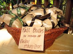 fall baby shower ideas | ... thrown a non-traditional baby shower? We'd love to hear all about it