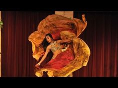 Montage of Belly Dance Veil Moves - YouTube