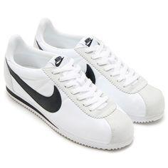 dd2ce846d519 Details about Nike Classic Cortez Nylon Men s Shoes Wolf Grey White  807472-010