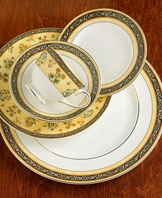 WedgeWood India China Pattern