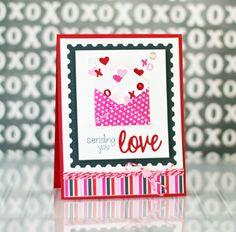 Sending You Love Card by Taylor VanBruggen