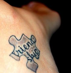 Friendship Tattoo Ideas Puzzle Piece