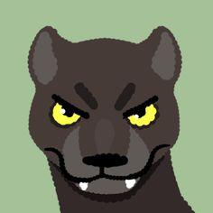 Custom Agar.io Skin Panther
