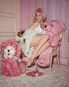 jayne mansfield in pink