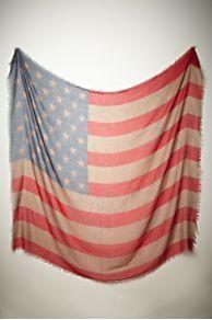 Flag scarf love!!!