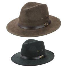 a08f8f9a4fd Fedora Hat BLACK BROWN Hawkins Trilby Panama Mens Ladies Travel Sun Summer
