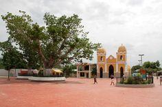 Plaza central Santa Lucía