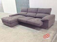 Sofá chaise longue Soft de Sofás Home Decor