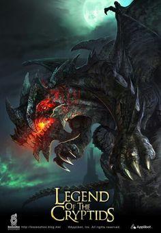 Dragon gargola