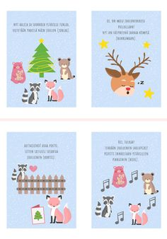 Preschool Christmas, Christmas Diy, Learn Finnish, Pre School, Kindergarten, Arts And Crafts, Clip Art, Printables, Teaching