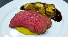 Perfekt langtidsgrillet roastbeef