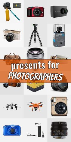 Presents For Photographers, Crepe Ingredients, Popsugar, Cool Gifts, Searching, Lovers, Entertaining, Gift Ideas, Cool Stuff