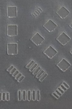 laser vs razor . laser-cut mylar