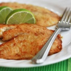 love life Honey Lime Tilapia - with a simple squeeze of lime juice, delicious. Or, you could certainly serve it with some peach salsa. I loved it! Fish Recipes, Seafood Recipes, Great Recipes, Cooking Recipes, Favorite Recipes, Healthy Recipes, Tilapia Recipes, Ways To Cook Tilapia, Amazing Recipes