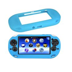 24bbaa7e1 Soft Silicone Skin Protector GEL Frame Cover Sleeve Game Case Protective  Shell Guard for Sony For PS Vita Console For PSP