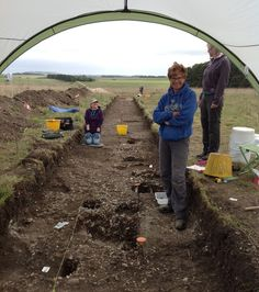 Over the last couple of weeks Wessex Archaeology has been working with Operation Nightingale and Breaking Ground Heritage running an excavation close to East Chisenbury uncovering Late Bronze and early Iron Age archaeology.   To find out more about this site please follow our blog here.