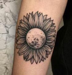 Moon turned sunflower?