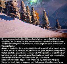 Why No Spirit Healers?