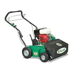 Billy Goat OS552 Push Overseeder with Auto Drop | Mutton Power Equipment  The Billy Goat OS500 Series Push Overseeders with Auto Drop are the perfect solution for both homeowners and commercial landscapers looking to add a professional turf renovation touch to their lawn without the expense cost. The Billy Goat OS552 Overseeder is powered by a heavy-duty 205cc Briggs & Stratton Vanguard Engine. The vertislicing reel is perfect for overseeding and thinning running grasses. A heavy-duty build…