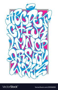 Typographic Gifts & Merchandise - - High quality Typographic gifts and merchandise. Inspired designs on t-shirts, posters, stickers, ho. Alphabet A, Graffiti Alphabet Styles, Graffiti Lettering Alphabet, Tattoo Fonts Alphabet, Alphabet Letters Design, Typography, Street Art Graffiti, Wie Zeichnet Man Graffiti, Graffiti Words