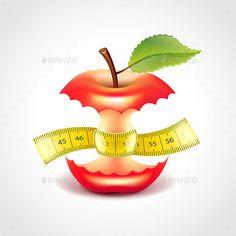 Apple Stub With Measuring Tape