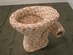 Sarah Lucas.// new use for cigarettes ...!