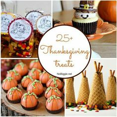 25 Thanksgiving Treat Ideas