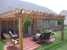 Add Interest To Your Yard With A Pergola | Pergolas, Swings And Playground