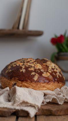 Veľkonočný mazanec - Nelkafood s láskou ku kvásku Baked Goods, Bread, Baking, Pastries, Food, Basket, Brot, Bakken, Tarts