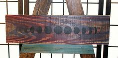 Moon Phase Upcycled Pallet Art. Recycled by CryptobioticDesigns on Etsy
