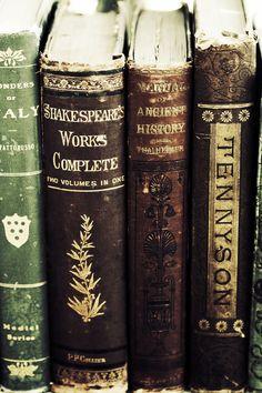 Tennyson and Shakespeare...❤❤❤